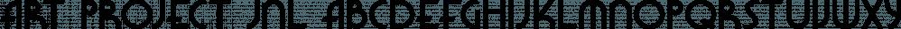 Art Project JNL font family by Jeff Levine Fonts