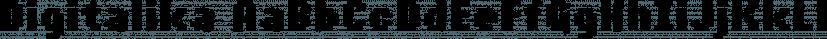 Digitalika font family by Pizzadude.dk