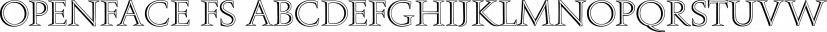 Openface FS font family by FontSite Inc.