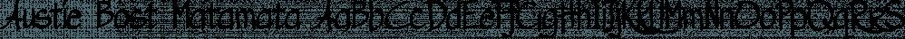 Austie Bost Matamata font family by Austie Bost Fonts