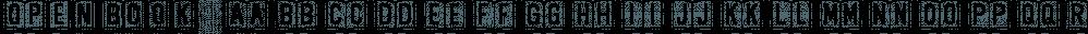 OpenBook font family by Ingrimayne Type
