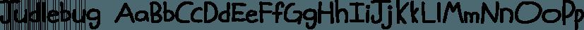 Judlebug font family by Atlantic Fonts