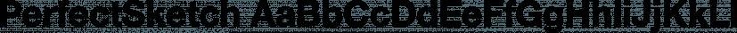 PerfectSketch font family by Wiescher-Design