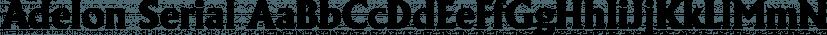 Adelon Serial font family by SoftMaker