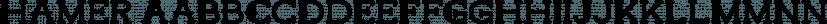 Hamer font family by madeDeduk