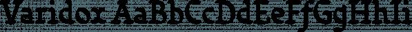 Varidox font family by Insigne Design