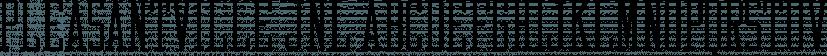 Pleasantville JNL font family by Jeff Levine Fonts