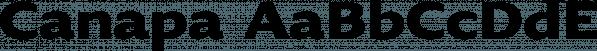 Canapa font family by Serebryakov