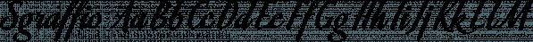 Sgraffio font family by Eurotypo