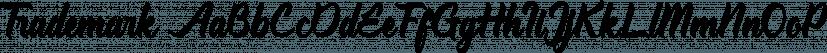 Trademark font family by Jrohcreative