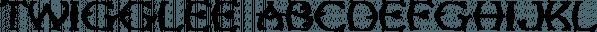 Twigglee font family by Ingrimayne Type
