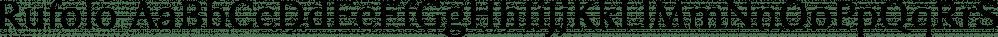 Rufolo font family by Eurotypo