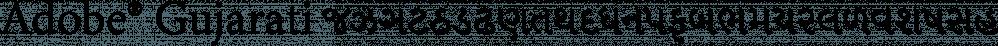 Adobe® Gujarati font family by Adobe