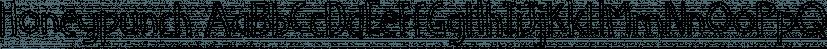 Honeypunch font family by Bogstav