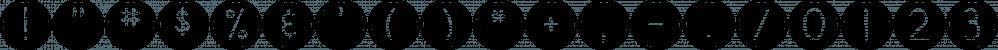 DJB Pokey Dots font family by Darcy Baldwin Fonts