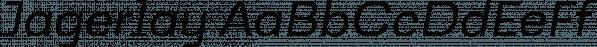 Jagerlay font family by Maciej Włoczewski