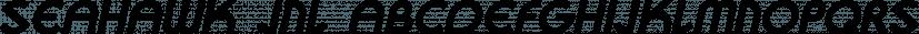 Seahawk JNL font family by Jeff Levine Fonts