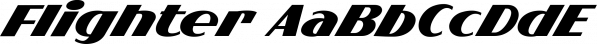Flighter font family by Måns Grebäck