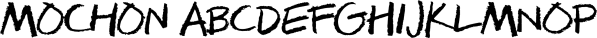 Mochon font family by Typodermic Fonts Inc.