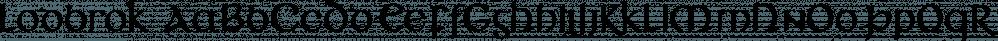 Lodbrok font family by vatesdesign