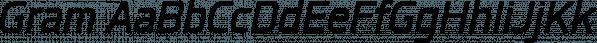 Gram font family by Typesketchbook