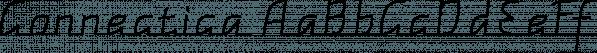 Connectica font family by Tour de Force Font Foundry