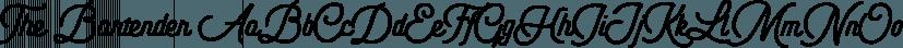 The Bartender font family by Vintage Voyage Design