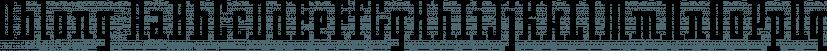 Oblong font family by Emigre