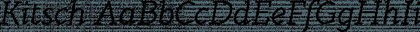 Kitsch font family by Zetafonts