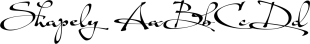Shapely font family mini