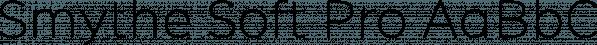 Smythe Soft Pro font family by Wordshape