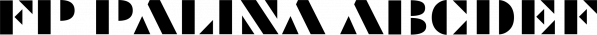 FP Palina font family by Fontpartners