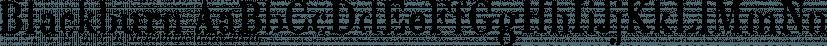 Blackburn font family by E-phemera Fonts