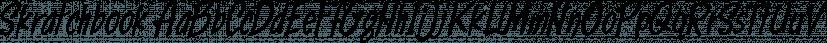 Skratchbook font family by CozyFonts Foundry