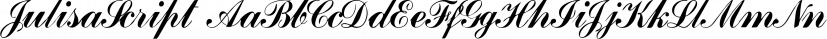 JulisaScript font family by Intellecta Design