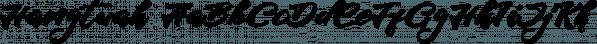 Hangtuah font family by olexstudio