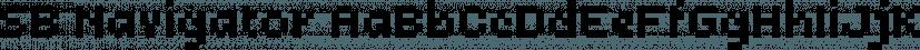SB Navigator font family by SelfBuild Type Foundry