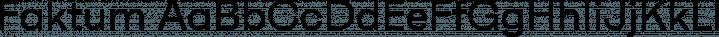 Faktum font family by René Bieder