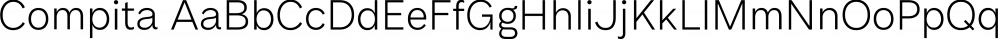 Compita font family by Studio Buchanan