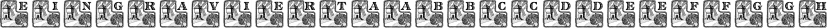 Eingraviert font family by Intellecta Design