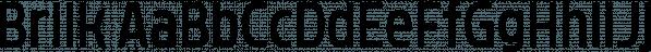 Brilk font family by Typesketchbook