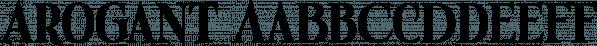 Arogant font family by GRIN3 (Nowak)