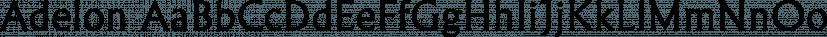 Adelon font family by FontSite Inc.