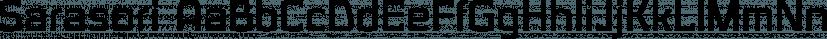 Sarasori font family by Typodermic Fonts Inc.