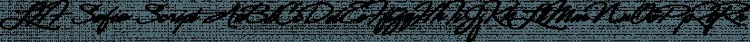 LHF Sofia Script font family by Letterhead Fonts