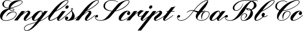 EnglishScript font family by Wiescher-Design