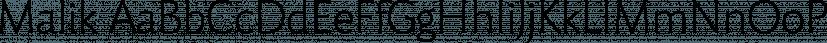 Malik font family by Zetafonts