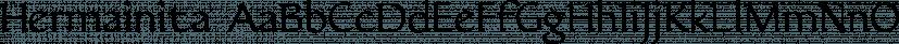 Hermainita font family by Ingrimayne Type