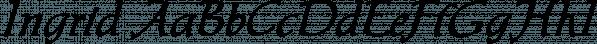 Ingrid font family by SoftMaker