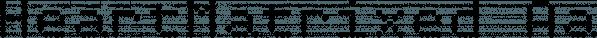 HeartMatrixed font family by Ingrimayne Type